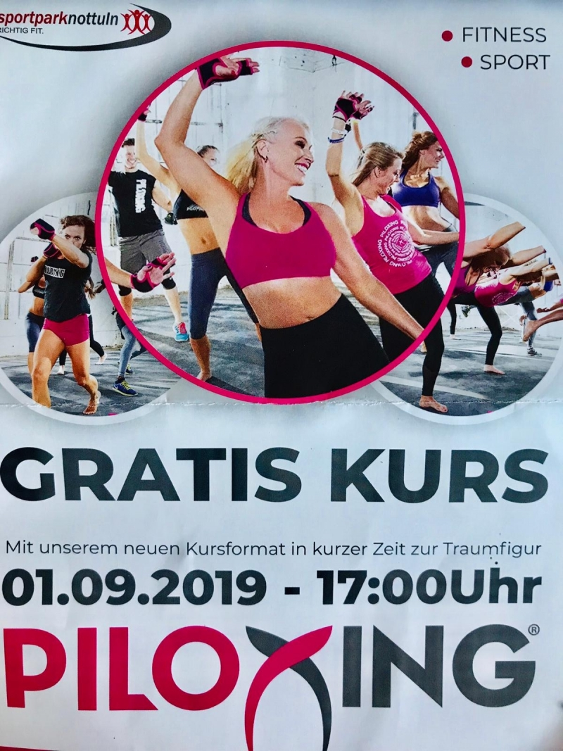 01.09.2019 Probetraining Piloxing